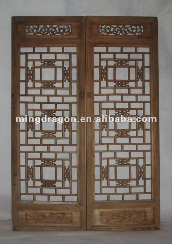 c0d592a3f2a19 Chinese Antique Hand Carved Wood Screen - Buy Antique Wood Carved Natural  Screens