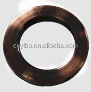 Domestic outfit design will with curtain fittings curtain rings