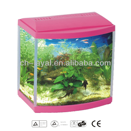 Front Curved Fish Glass Aquarium Fish Tank