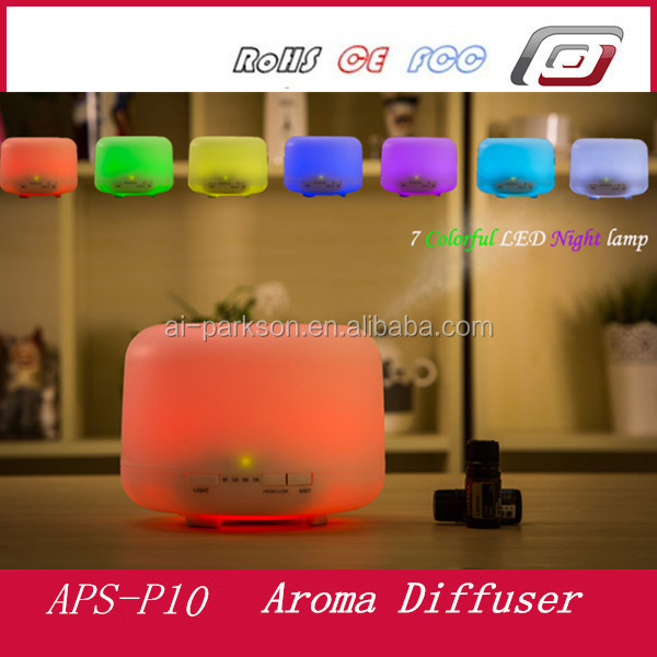 2017 hot sale 500ml essential oil diffuser 500ml aroma diffuser