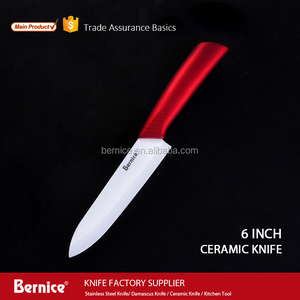 "ceramic blade chef knife ultra sharp 6"" Inch professional kitchen knife with cover"
