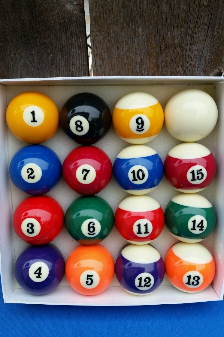 "Vintage Premium Belgian Aramith 2.25"" Billiard Pool Ball Set"