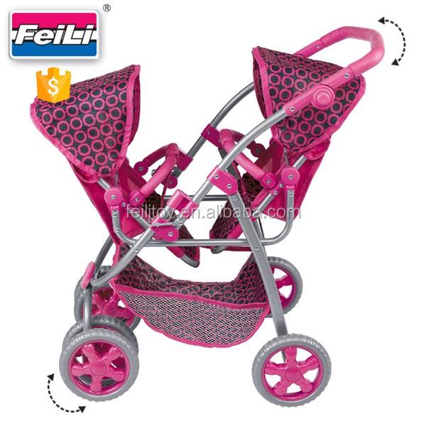 fei li carrinhos de beb g meo boneca com as rodas girando carrinho de boneca e boneca assento. Black Bedroom Furniture Sets. Home Design Ideas
