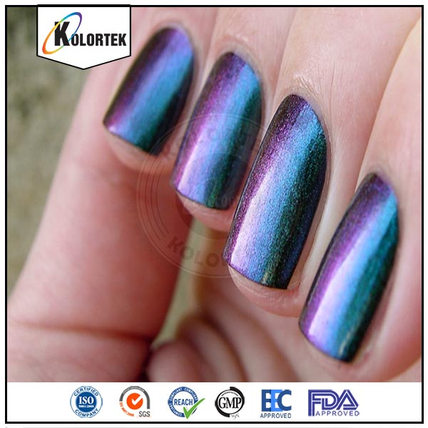 Best price natural magic white powder, chameleon nail pigment wholesale