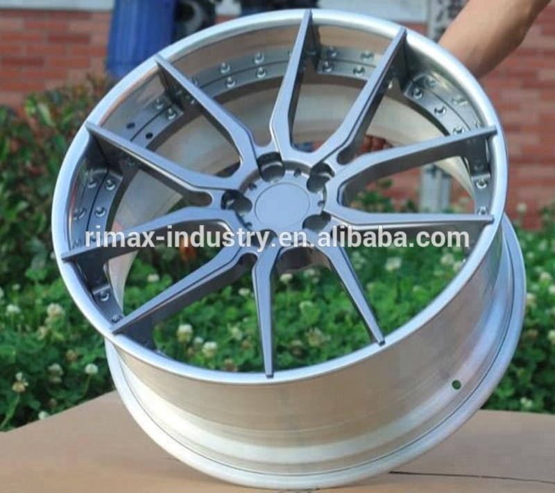 T6061 aluminum 2-piece forged <strong>wheels</strong> for sale