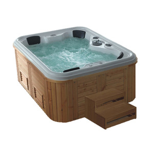 Outdoor Wooden Massage Bathtub