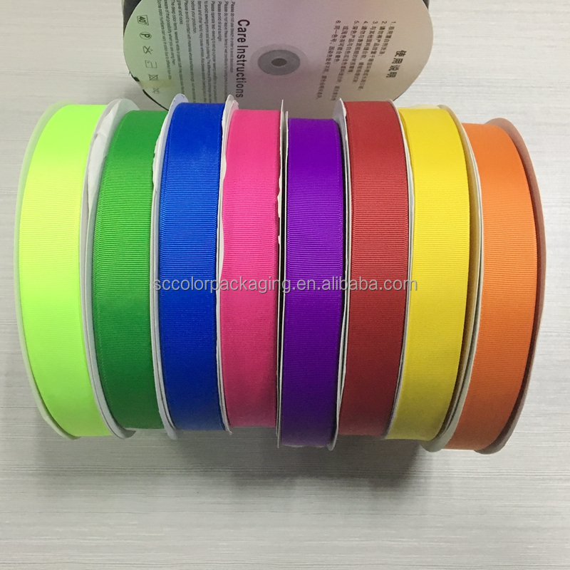 Beautiful Polyester Grosgrain Ribbon Best Quality Hot Sale