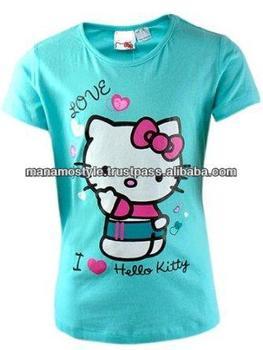 3fc18e3a Baby Girl Fashionable Printing T-shirt - Buy Printing Design T-shirts ...