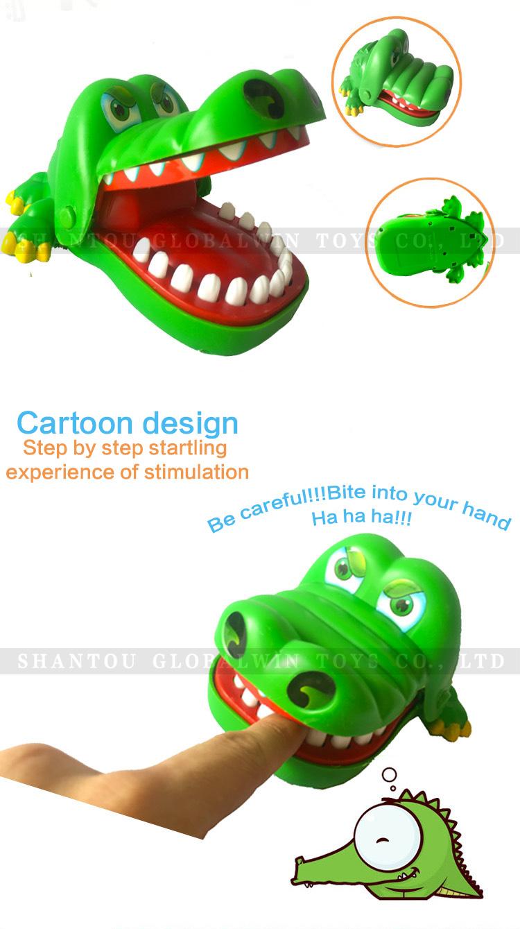 Toys & Hobbies Strict Fun Crocodile Dentist Bite Finger Pull Teeth Game Children Kid Toy Gift Prank 1