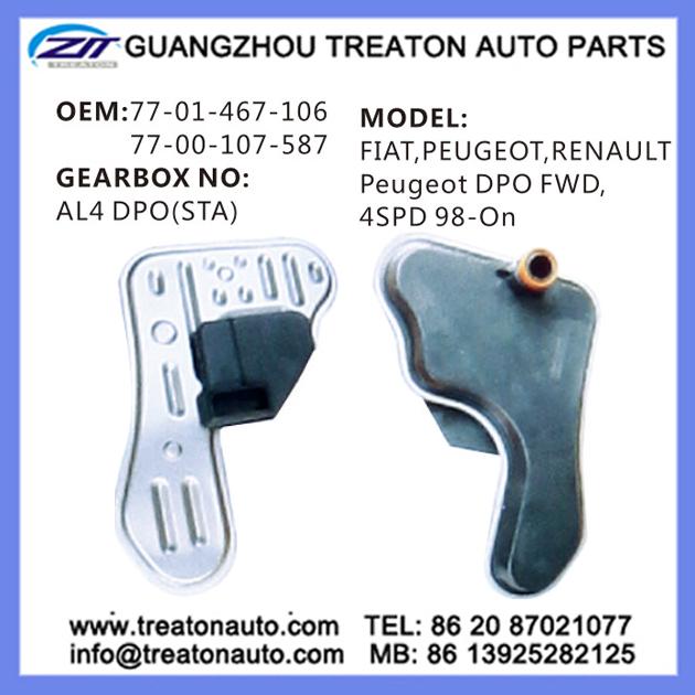Transmission Filter 77-01-467-106 77-00-107-587 For Peugeot Fiat ...