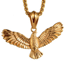 Hot Products For United States 2017 Domineering retro Eagle Pendant JY160