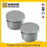 Tin can manufacturer Small Cardboard Tin Container Case food can
