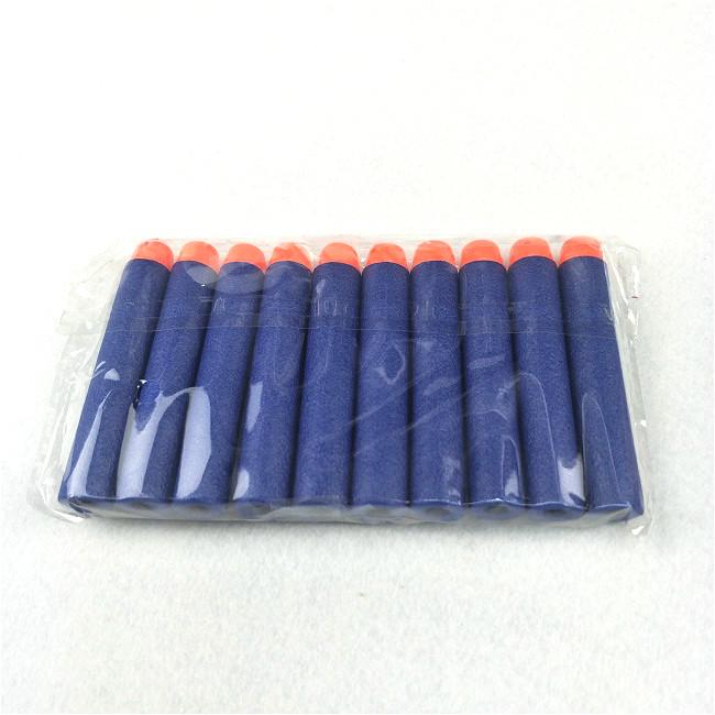 Синий цвет пены Eva Мягкая пополнения Дартс пули