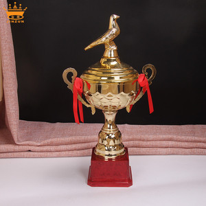 Made in china small big award small trophy cups plastic trophy base