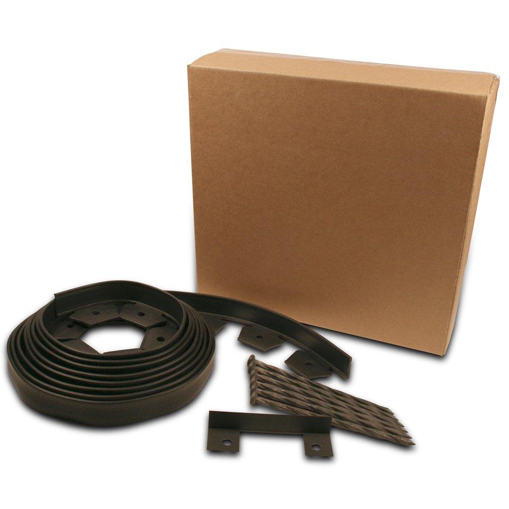 Dimex EasyFlex Plastic No-Dig Landscape Edging Kit, 20-Feet (3000-20C-6)