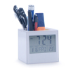 Table Stand LCD Clock with Pen Holder PN-1026