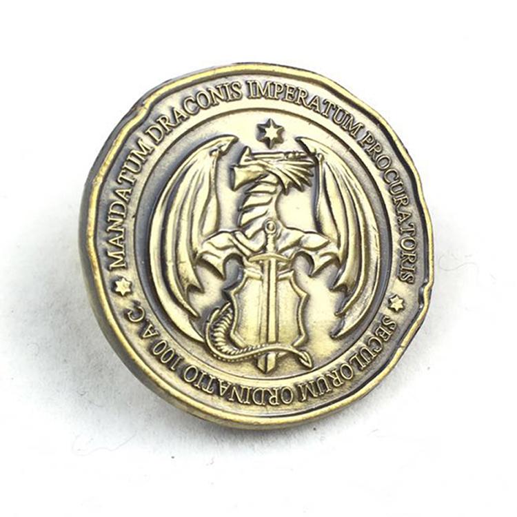 Fabriek Directe Verkoop Custom Uitdaging Munten Maker Metal Tokens Coin Voor Board Game