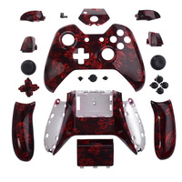Hydro Dipped Madness Red Skull Controller Housing For Xbox One ...
