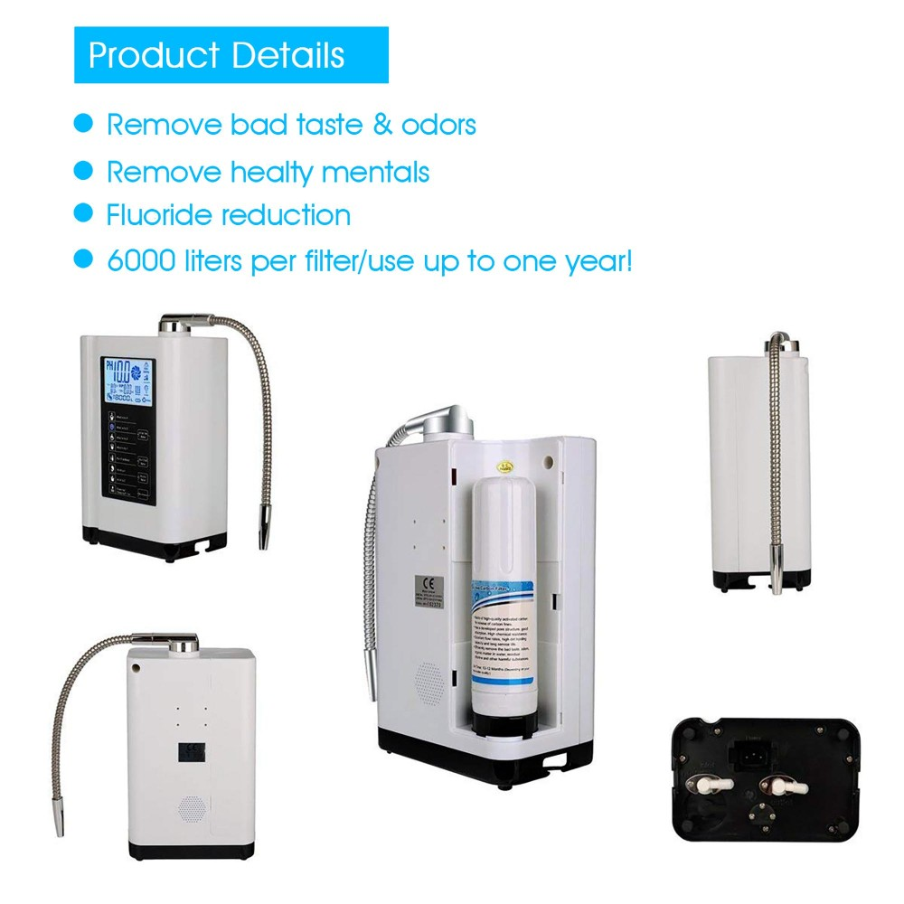 reliable living water alkaline water ionizer from China for health