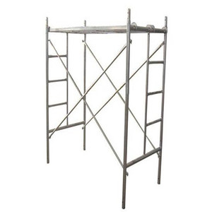 Light Duty Q345 Safeway Galvanized Scaffolding H Ladder System Strong Door Double Main Mason Q235 Steel Scaffold Frame