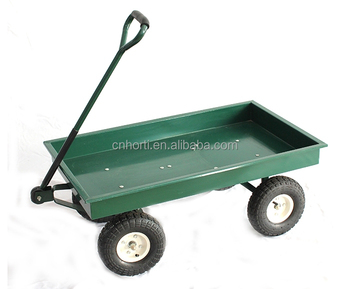 Planting Carts And Wagons Metal Nursery Cart