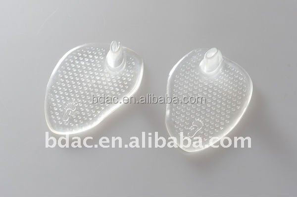 pu gel metatarsal ball of foot sandal cushion adhesive metatarsal inserts
