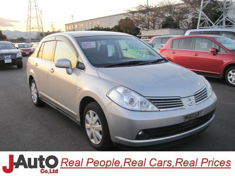 2005 Nissan Tiida/versa Sjc11 Used Car For Sale - Buy Used Car For ...