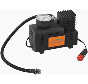 12V dc mini air compressor pump tire inflator foam