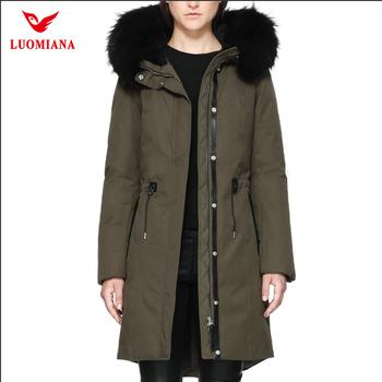 9dfc2ba13 Raccoon Fur Back Zipper Hooded Women Winter Long Parka Down Jacket - Buy  Women Winter Jacket,Women Down Jacket,Parka Jacket Product on Alibaba.com