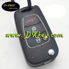 Shock price remote control case for hyundai car key hyundai remote key case with horn button and silver trim