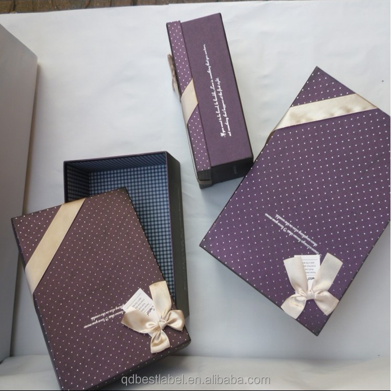Accept custom order fancy printed coated packaging paper box