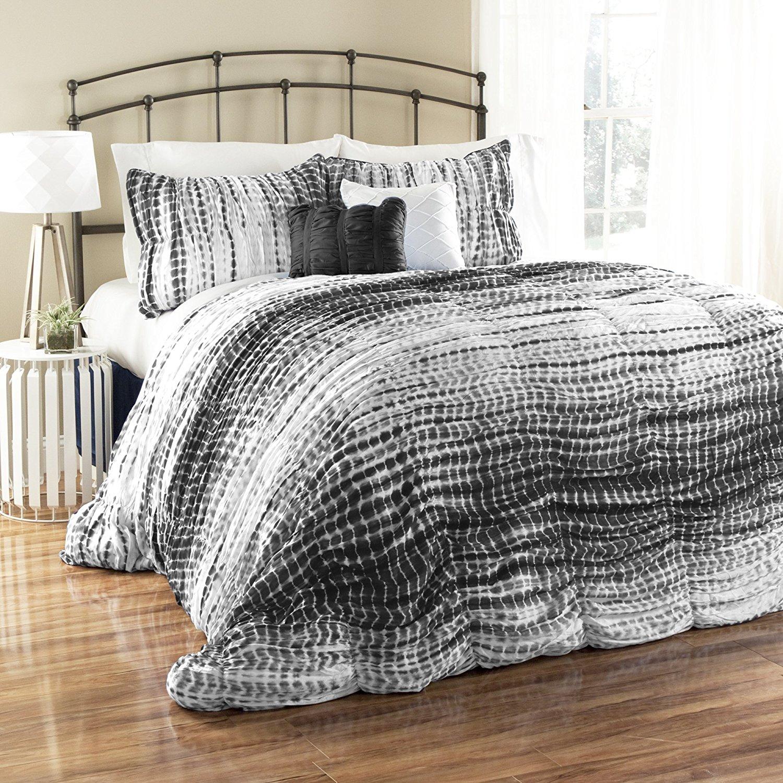 Buy Lush Decor 5 Piece Pebble Creek Tie Dye Comforter Set Full
