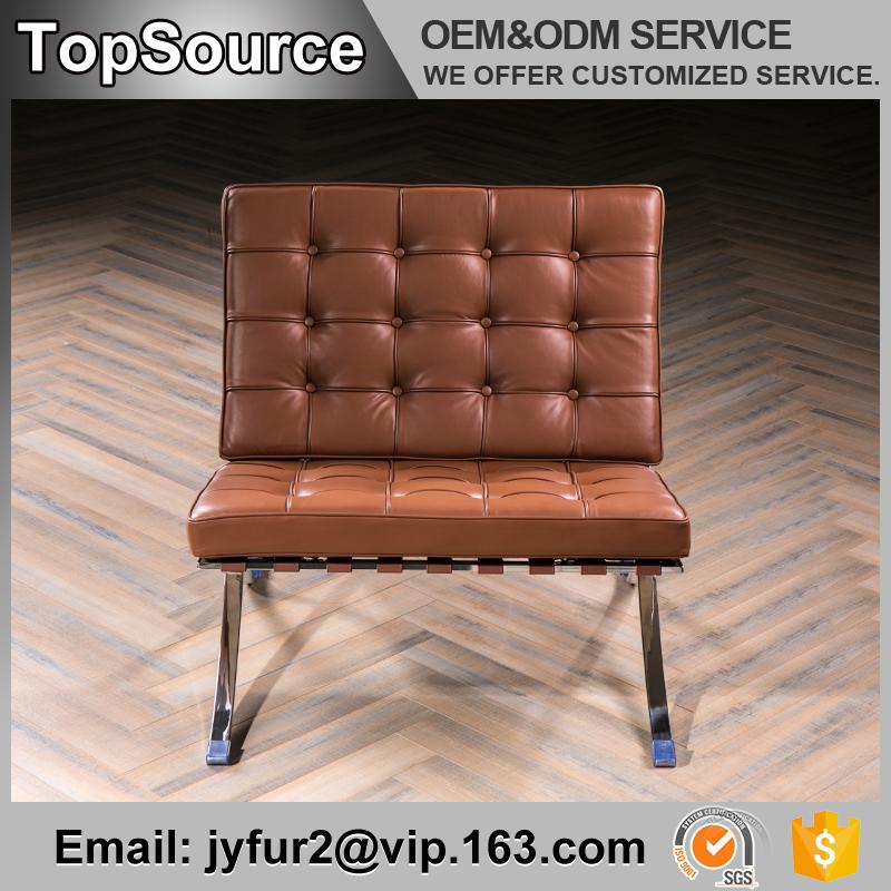ocio muebles de la sala de cuero correas barcelona silla