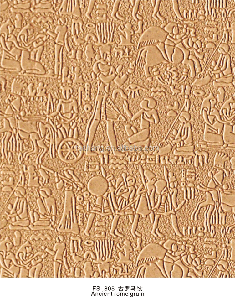 Embossed 3D pattern wall covering panel 3D decorative wall paneling board