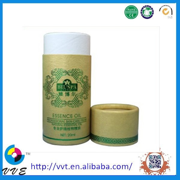 Promotion Round Tea Paper Tube Packing Box with Printing
