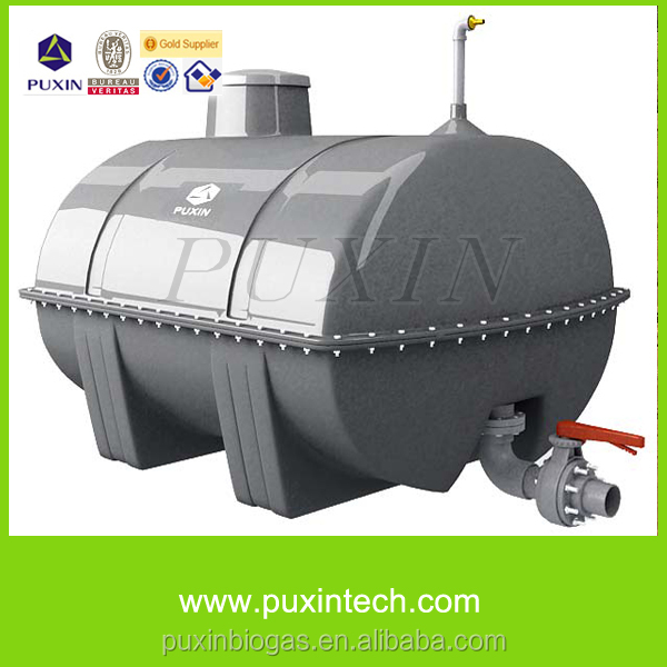 Puxin Cement Different Size Biogas Household Biomass Digester ...