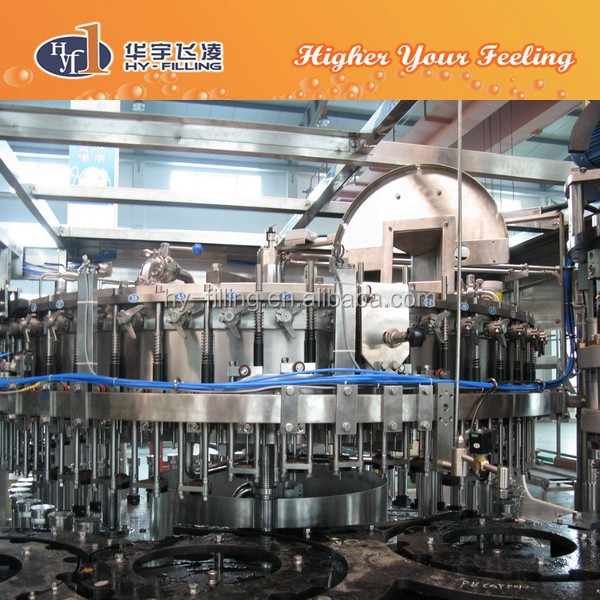 Cgf Series Glass Bottle Soda Filling Plant/Soda Filling Line/Beer Filling Plant