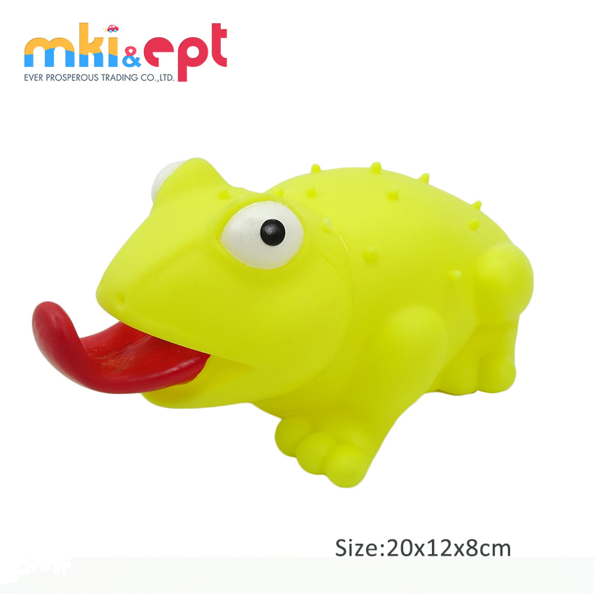 Cute Baby Vinyl Rubber Toys Rubber Frog Bath Toys With Sound On Sale ...