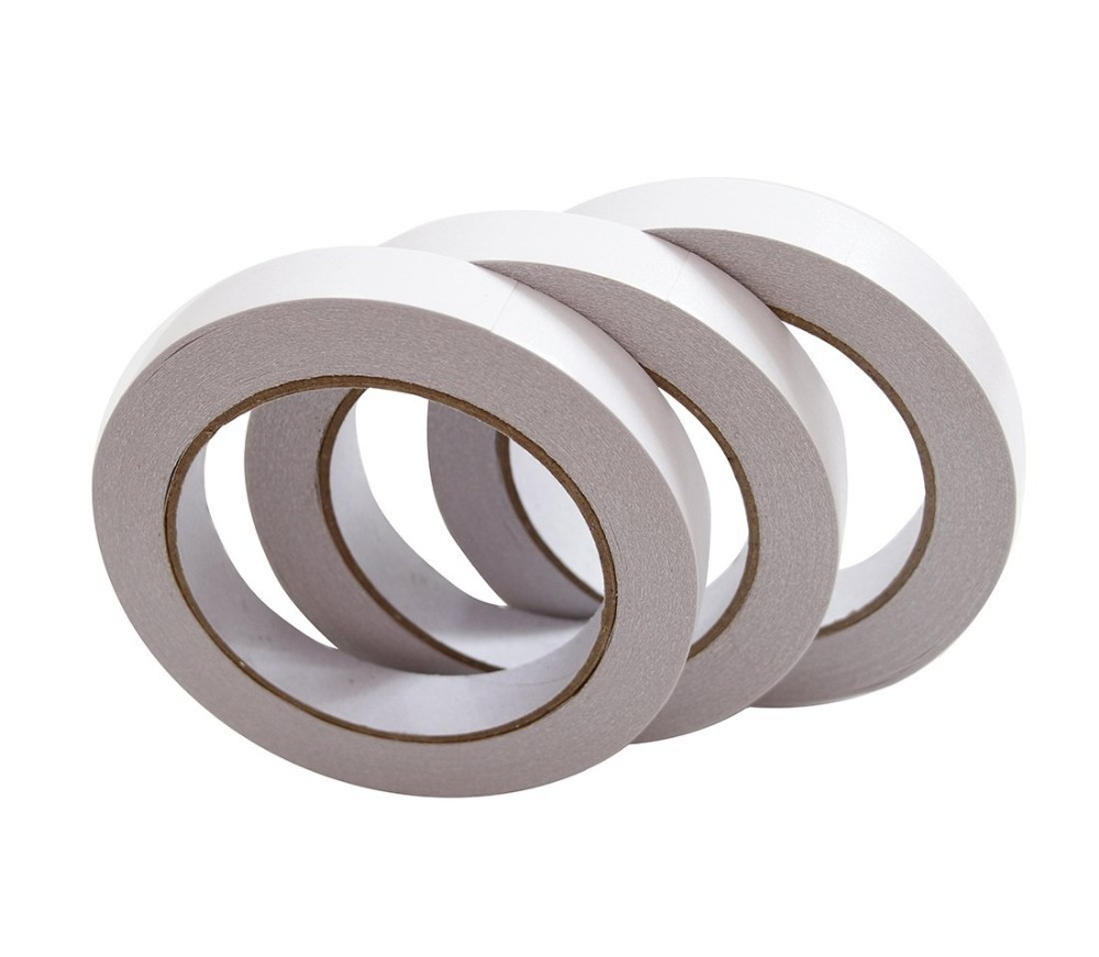 3m double sided sticky wall adhesive gummed paper tape