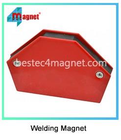 27.2KG Welding Arrow Magnet Angled Soldering Holder Accessory Welders Clamp