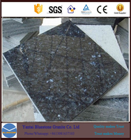 unpolished granite tiles 18x18 for building construction material Blue Pearl granite tile kitchen countertop