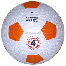 Sports football ball with rubber material size 5-size 1