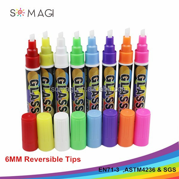High Quality Fashion Colorful marker pen snowman marker pen
