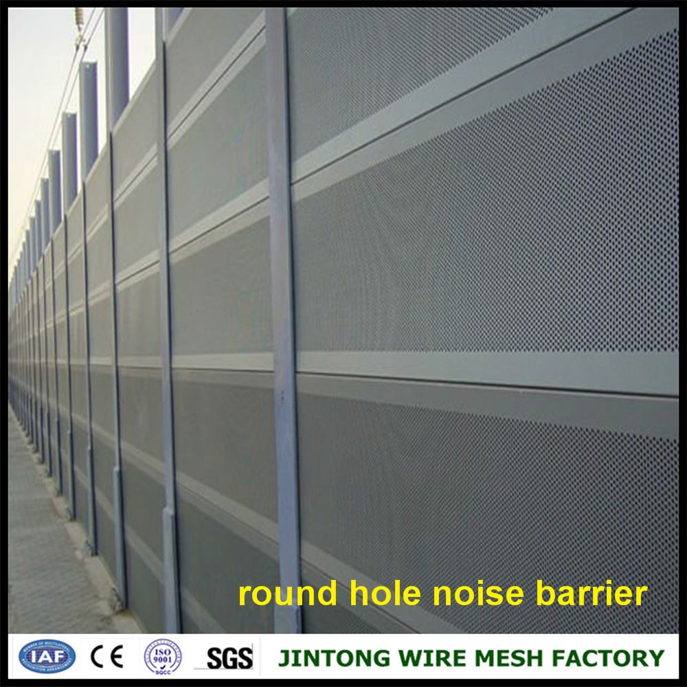Superb Highway Aluminum Panel Acoustic Barrier Panel Sound Barrier Noise Barrier