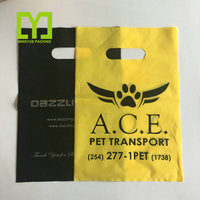 standard sizes cheap packaging plastic shopping bag die cut pouch bag