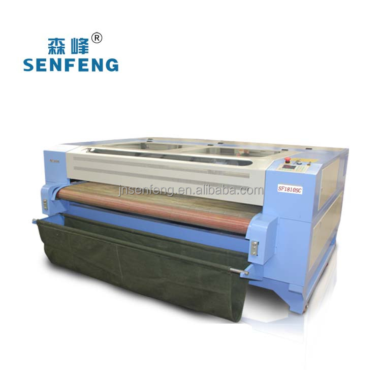 Textile laser cutting machine for jeans fabric leather cutter
