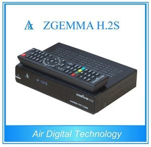 Original Dual Core Zgemma H2S twin tuner DVB-S2 satellite tv receiver  without satellite dish