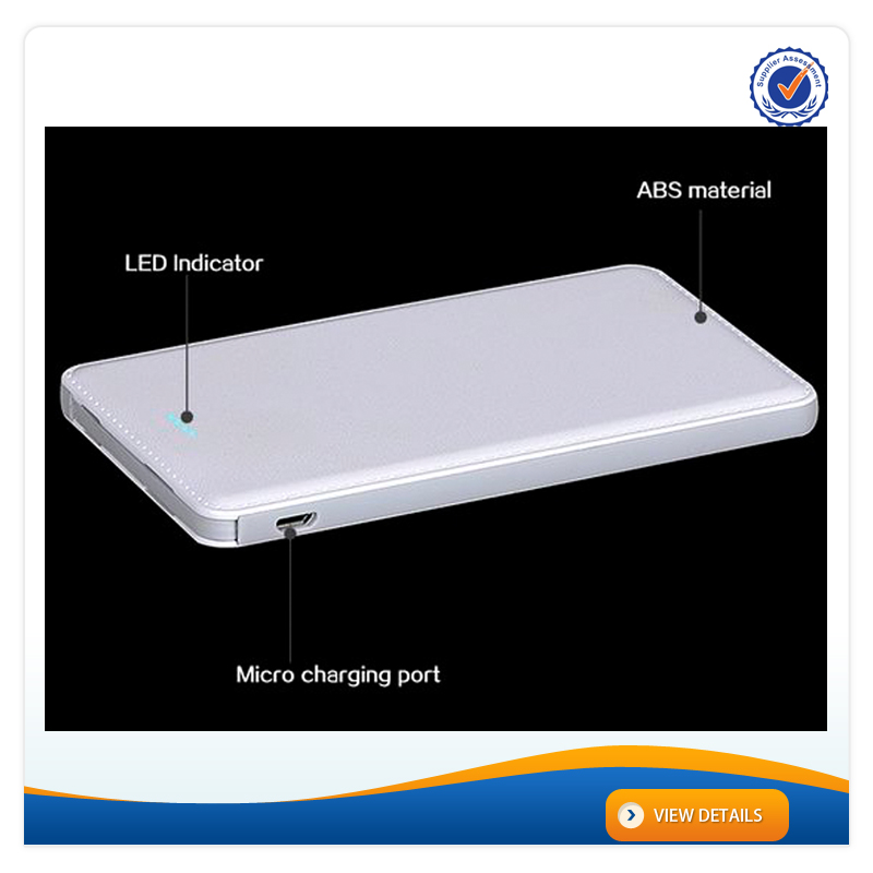 AWC933 Build-in Micro Charger external battery charger case for iphone 5000mah golf mobile power bank new mobile powerbank