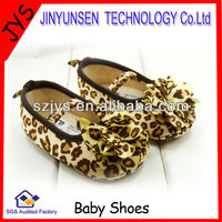 leopard toddler ballet shoes baby shoes wholesale baby footwear