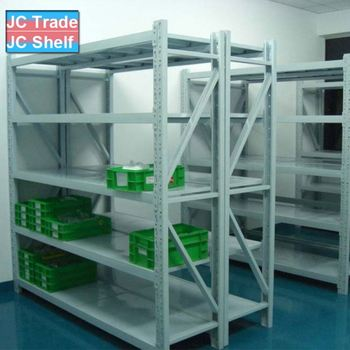Light Duty Steel Plate Storage Rack and Metal Storage Shelf with Factory Price
